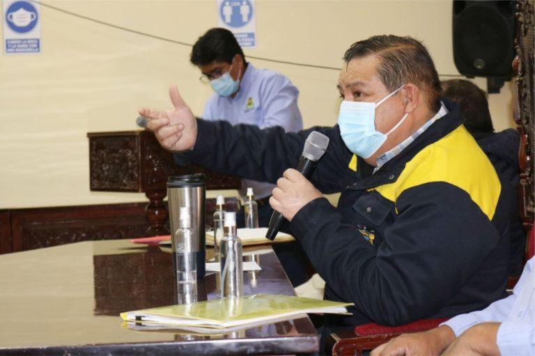 Moquegua: Alcalde provincial anuncia nuevo paquete de obras por S/ 43 millones