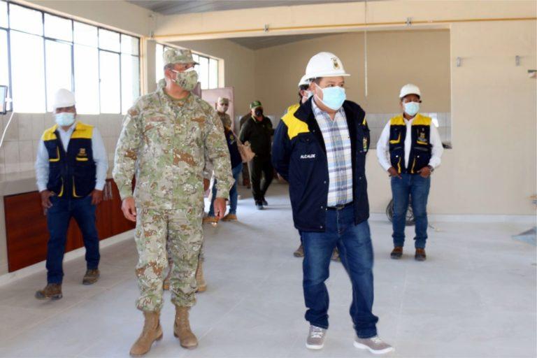 Mantenimiento del comedor del Fuerte Los Ángeles mejorará calidad de vida de 700 soldados