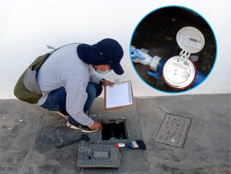 EPS Moquegua realiza mantenimiento preventivo a medidores de agua potable