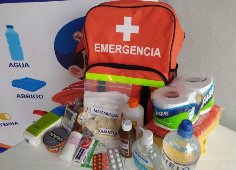Matarani: sortearán mochilas de emergencia