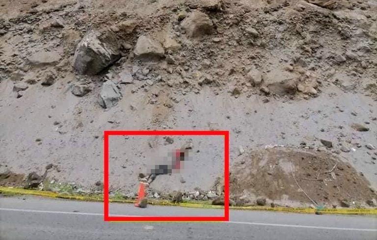 Punta de Bombón: Hallan cuerpo sin vida de venezolano a un costado de la Costanera