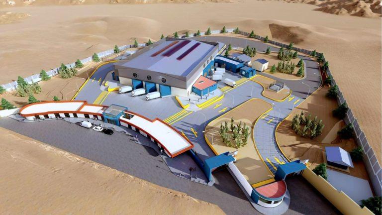 Gran avance tiene la construcción del moderno camal municipal de Moquegua