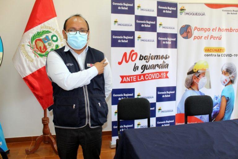 Este sábado vacunan a mayores de 35 años a más en Moquegua e Ilo