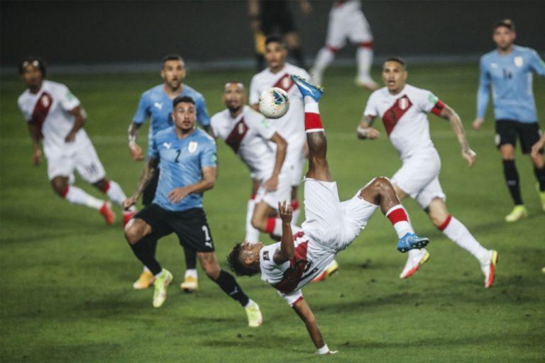 Perú empató 1-1 con Uruguay por la fecha 9 de las Eliminatorias Qatar 2022