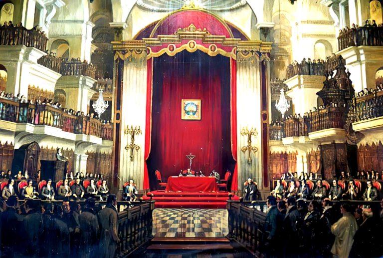 Los sureños, y la instalación del primer Congreso Constituyente del Perú