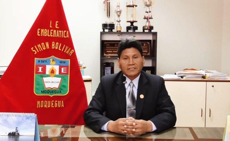 Hoy la I.E. Simón Bolívar alma mater de Moquegua está de aniversario