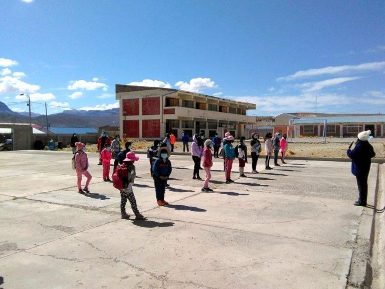Ocho instituciones educativas aperturaron sus puertas en la parte alta de Moquegua