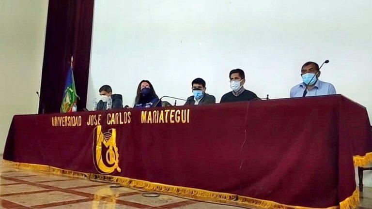 Representante de la SUNEDU escuchó problemática de estudiantes de la UJCM