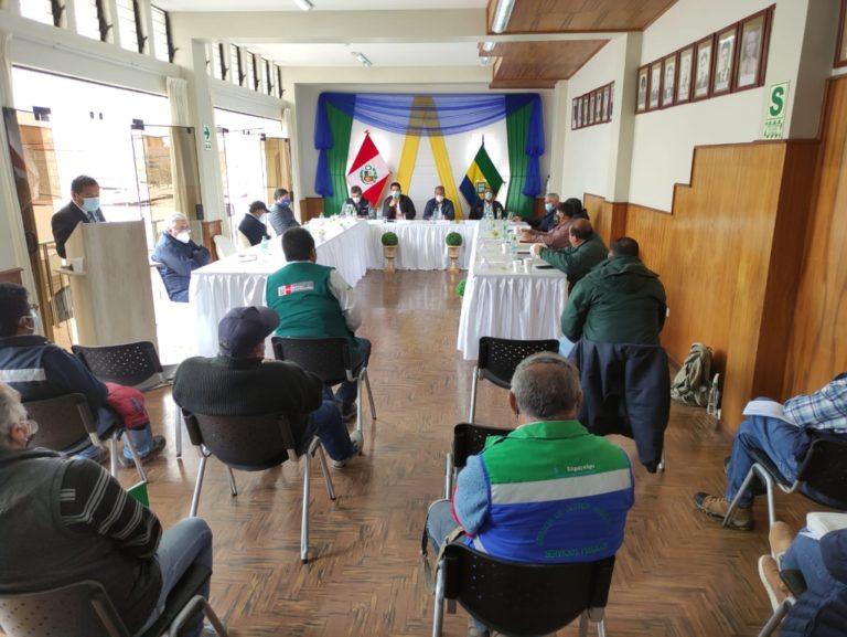 GRA compromete financiamiento de S/ 10 millones para packing del valle de Tambo