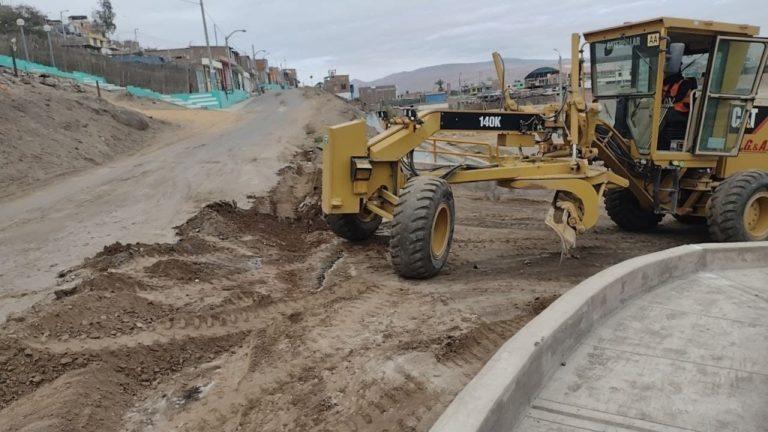 Deán Valdivia: continúan trabajos de mejoramiento de transitabilidad
