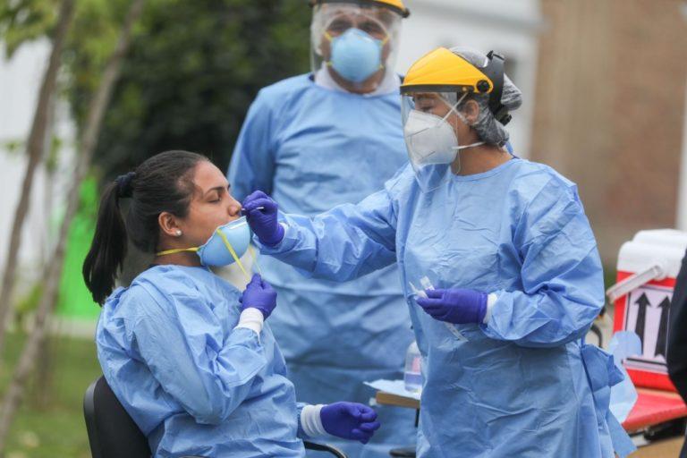 Niveles de contagio en Arequipa con cifras ligeramente a la suba