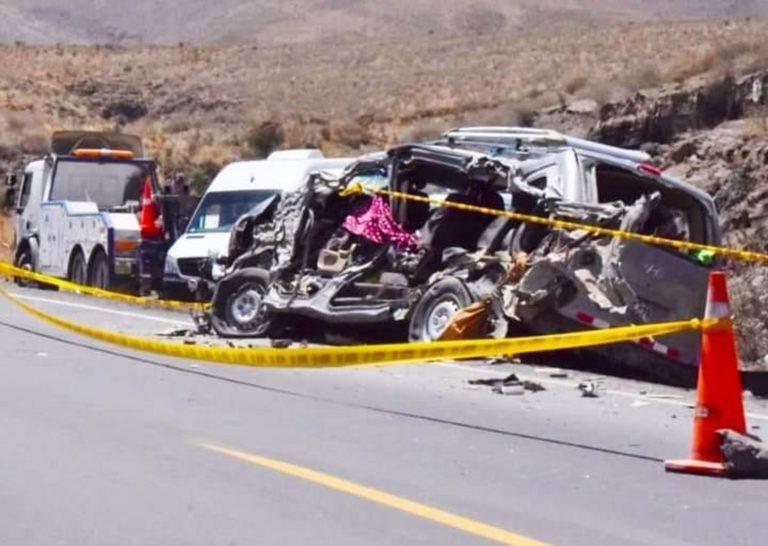 Arequipa: Piden prisión preventiva para chofer por accidente que dejó siete fallecidos y 20 heridos