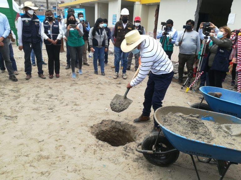 Se inicia obra de construcción del nuevo C. S. La Curva en Deán Valdivia