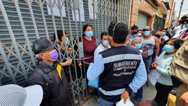Municipio de Ilo pretende desalojar a ocupantes de 9 tiendas de la calle Zepita