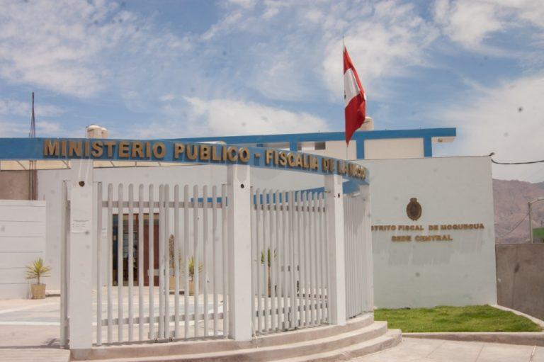 Ofrecen una plaza vacante en Distrito Fiscal de Moquegua