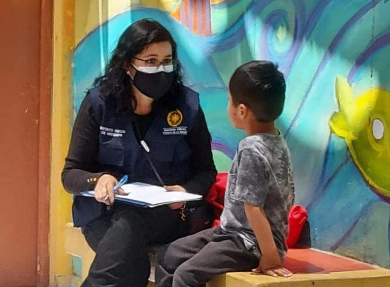 Fiscalía de Familia realiza visitas en albergues de la ciudad de Arequipa