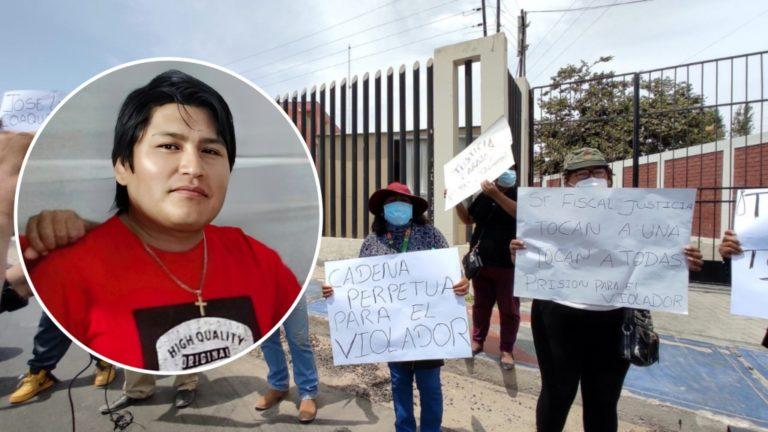 Presunto violador de dos niñas, José Luis Coaquira fue internado en el penal de Samegua