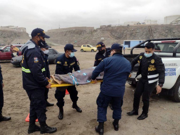 Tragedia dominical: dos jóvenes murieron ahogados en playa de Mollendo