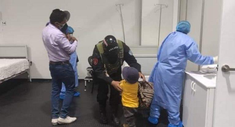 Arequipa: Madre de familia intentó quitarse la vida con sus dos hijos en puente Chilina