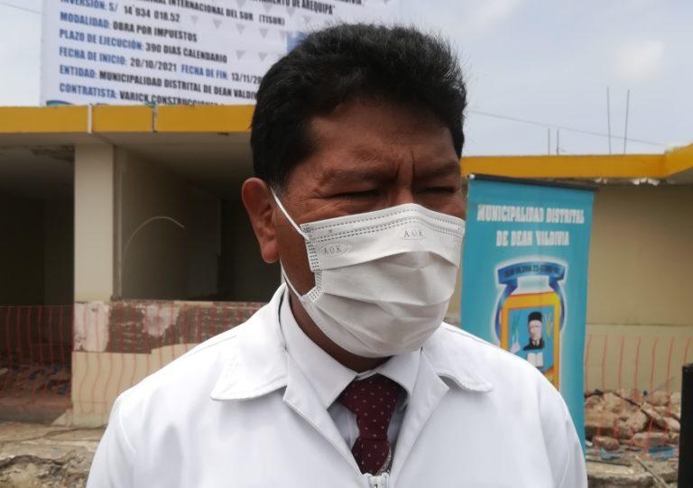 Néstor Montesinos pide que la Red de Salud Islay sea unidad ejecutora