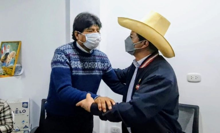Congreso autorizó viaje del presidente Pedro Castillo a Bolivia