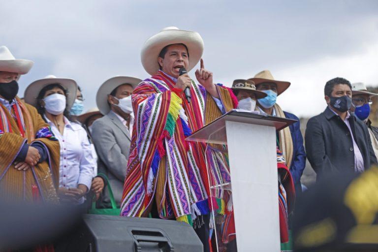 Pedro Castillo encabezó lanzamiento de la segunda reforma agraria
