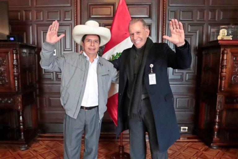 Pedro Castillo anuncia que Ricardo Belmont será asesor del Despacho Presidencial