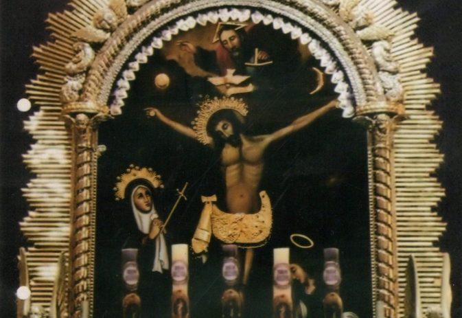 78 años tiene el lienzo del Cristo Morado de Mollendo