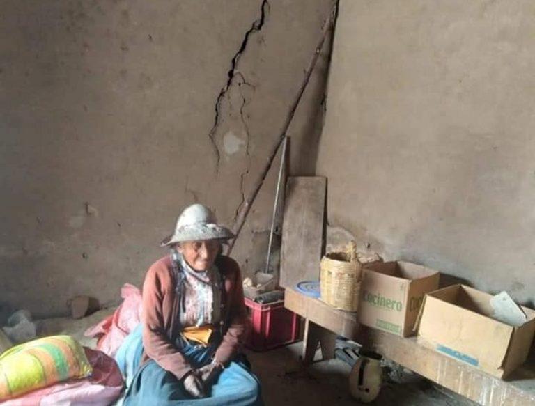 Tras sismo en Caylloma 80 viviendas quedaron afectadas