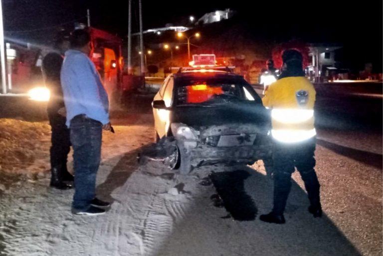 Ilo: Tras tenaz persecución PNP intervienen a pareja a bordo de vehículo